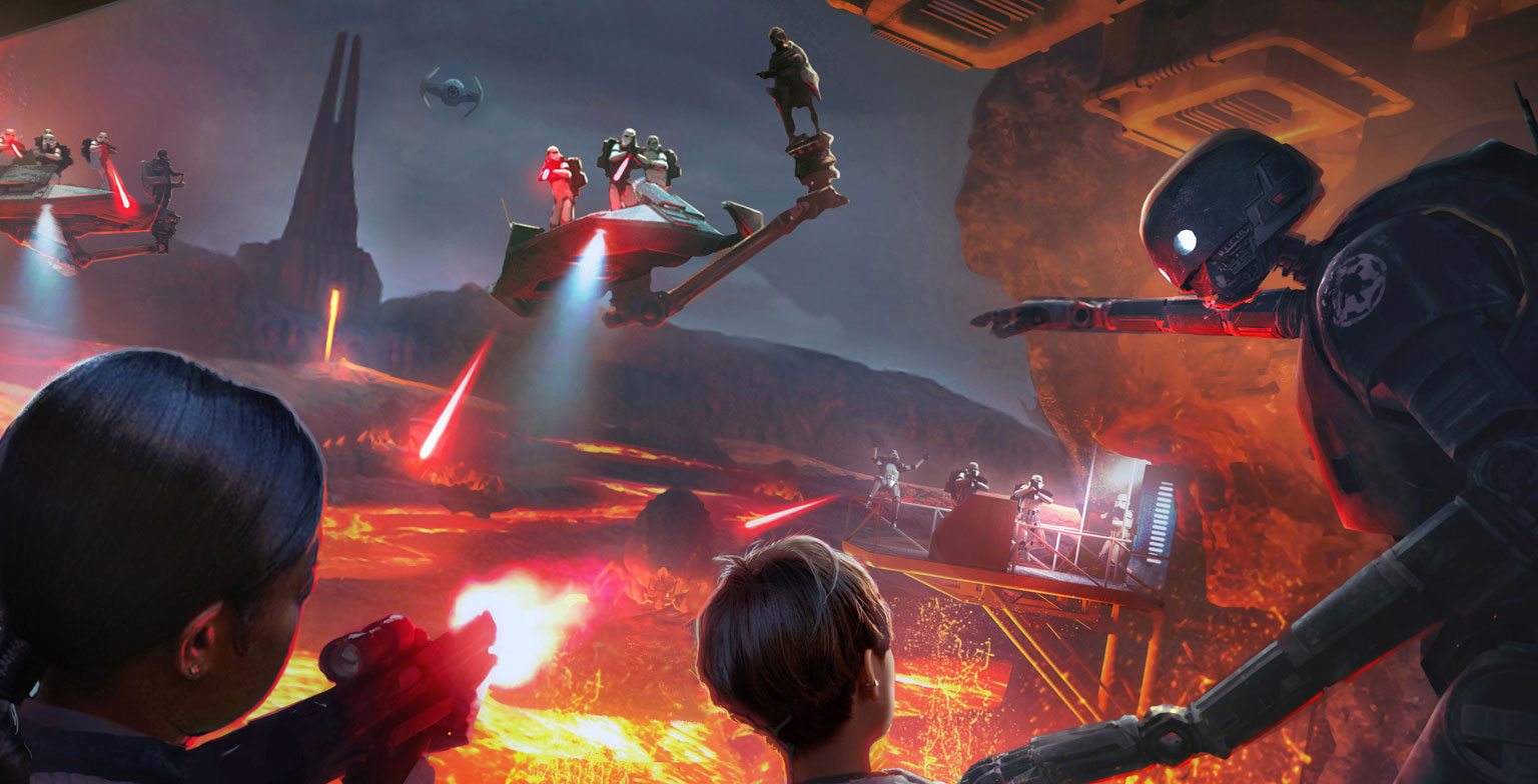 Star Wars VR arrive à Disney World et à Disneyland