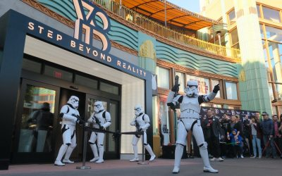 Les secrets de l'Empire VR attraction maintenant ouvert à Downtown Disney