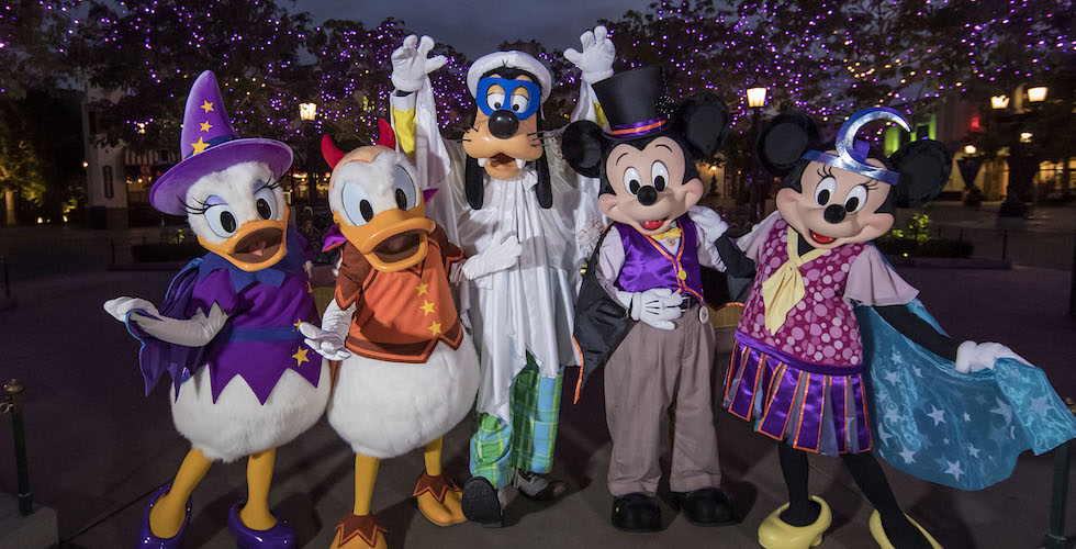 Le Festival Halloween revient au Disneyland Resort le 7 septembre 2018