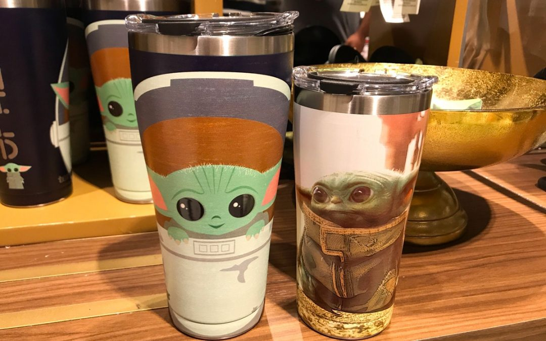 PHOTOS: les nouveaux gobelets de voyage Tervis Baby Yoda «The Child» arrivent à Walt Disney World