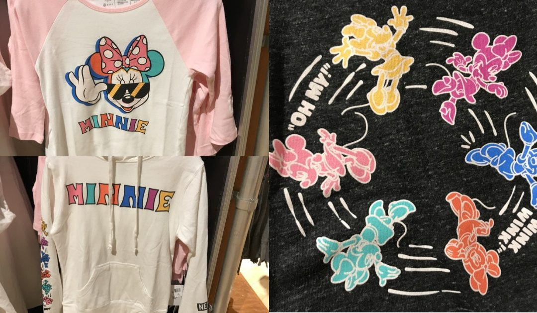 PHOTOS: de nouveaux vêtements Neff x Disney Minnie arrivent à Walt Disney World
