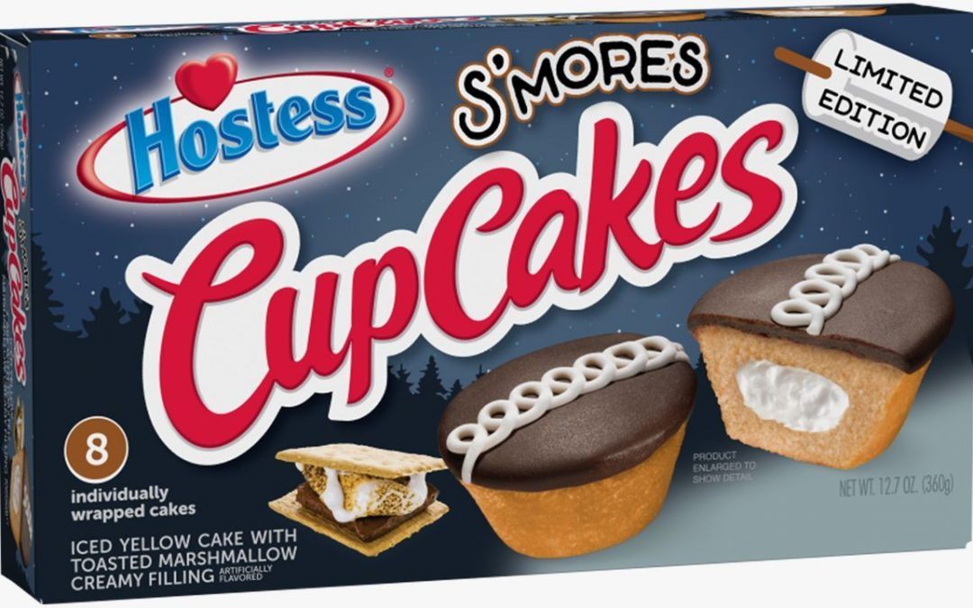 Hostess Is Releasing S'mores CupCakes, and It's Stuffed With Toasted Marshmallow Filling