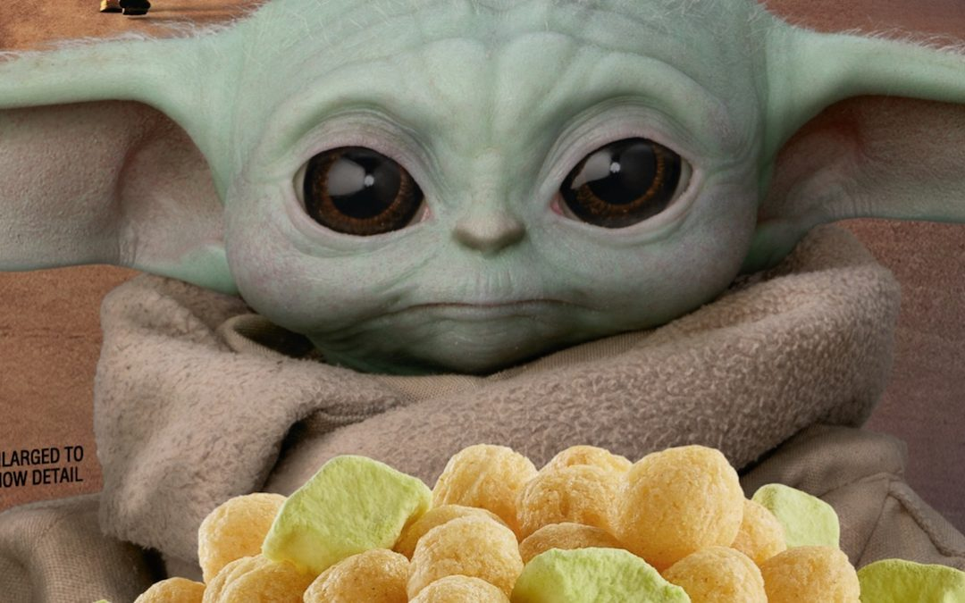 THE MANDALORIAN Baby Yoda Cereal Is The Way