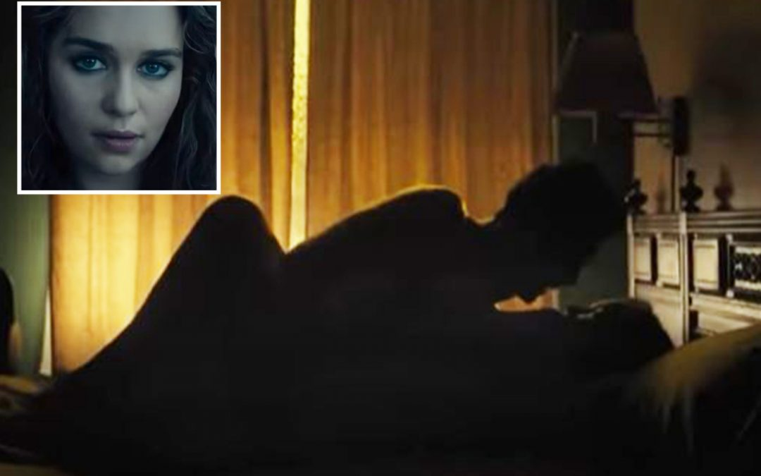 Game of Thrones' Emilia Clarke strips naked for raunchy sex scenes in new film Above Suspicion
