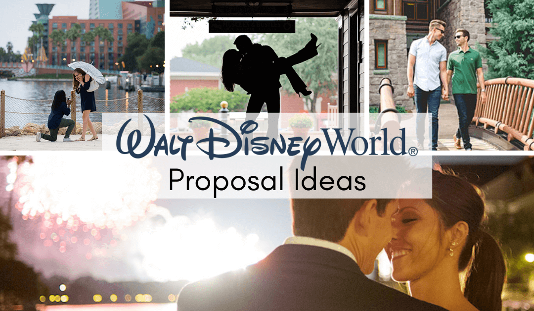Proposing in Disney World Outside the Parks