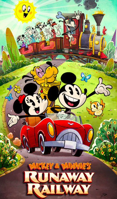 [RIDE REVIEW] «Mickey & Minnie's Runaway Railway» apporte enfin Toontown à Hollywood