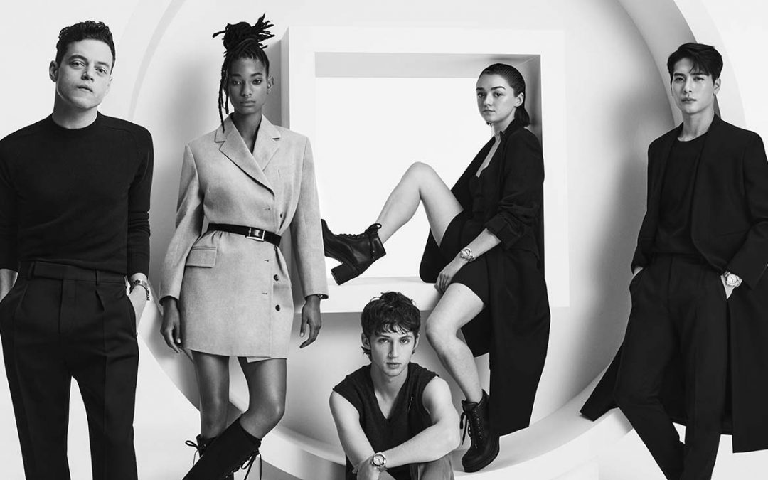Stars Rami Malek, Maisie Williams and Willow Smith Are the New Faces of the Pasha de Cartier Watch