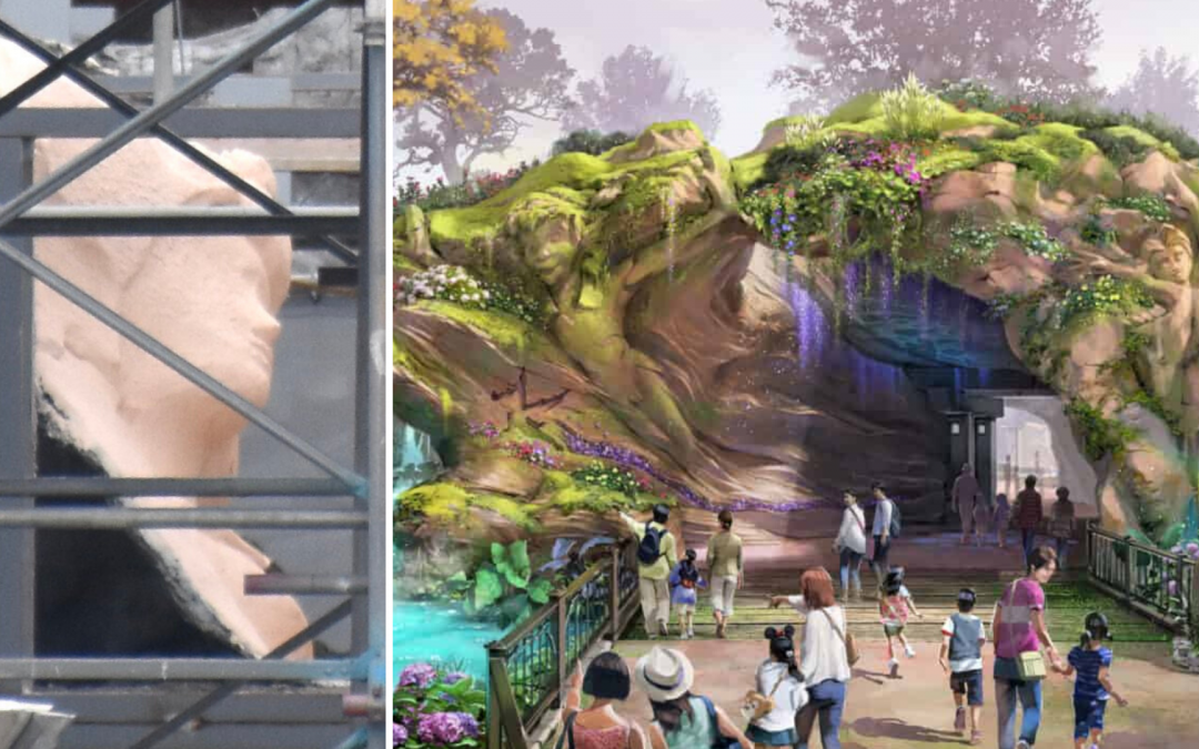 PHOTOS: Character Rockwork Spotted at Fantasy Springs Construction Site in Tokyo DisneySea