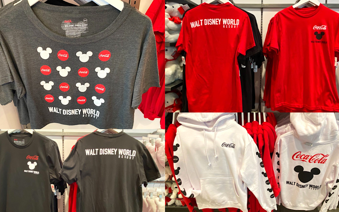 PHOTOS: New Coca-Cola x Walt Disney World Resort Apparel Collection Arrives at Disney Springs