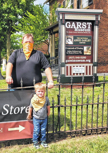 Garst Museum selling 'bandAnnies' – Daily Advocate