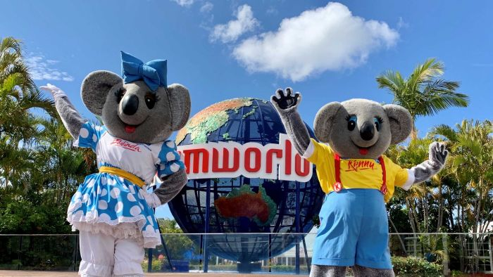 Dreamworld reopens after five months of coronavirus closures as theme park breaks ground on new ride