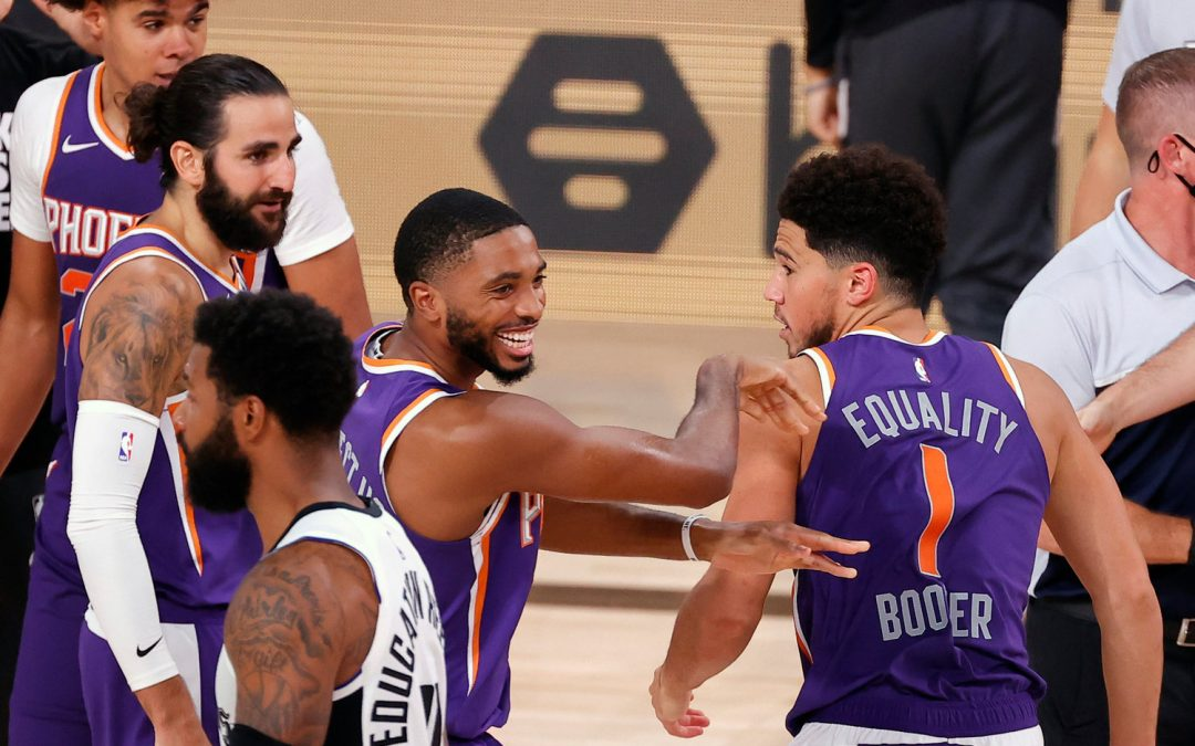 In the bubble, the Phoenix Suns have been perfect so far