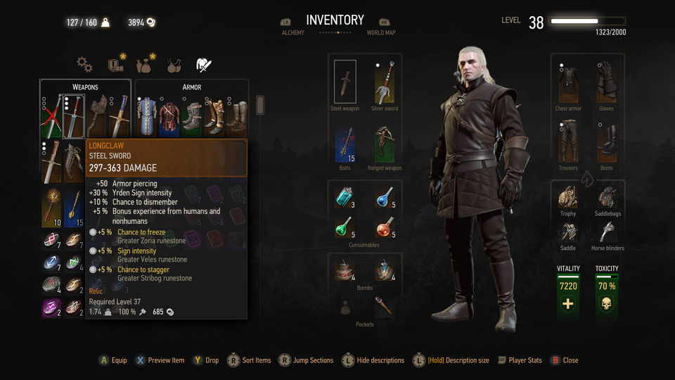 Did you know you can get Jon Snow's sword in The Witcher 3?