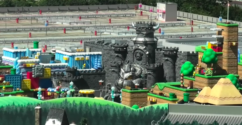 Super Nintendo World construction nears completion at USJ
