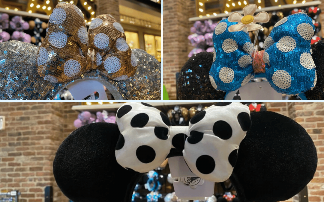 PHOTOS: Three NEW Minnie Mouse Ear Headband Designs Available at Disneyland Resort