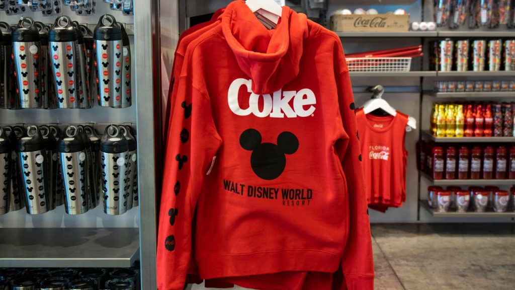 New Coca-Cola and Disney World Collection Now Available at Disney Springs